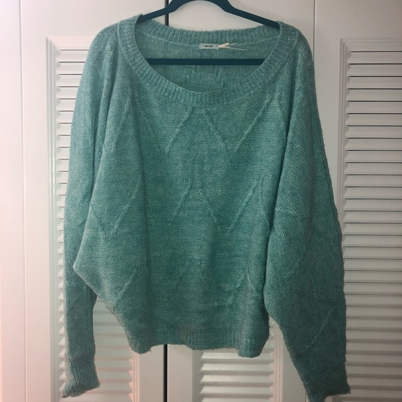UO Kimchi Blue Turquoise Sweater. M 5bdb83e4e944ba15098643b4. Other Sweaters  you may like. Urban outfitters oversized sweater f627d3529